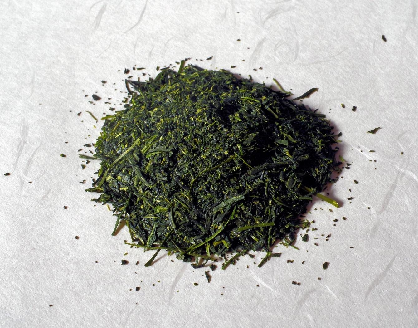 静岡産の深蒸し煎茶