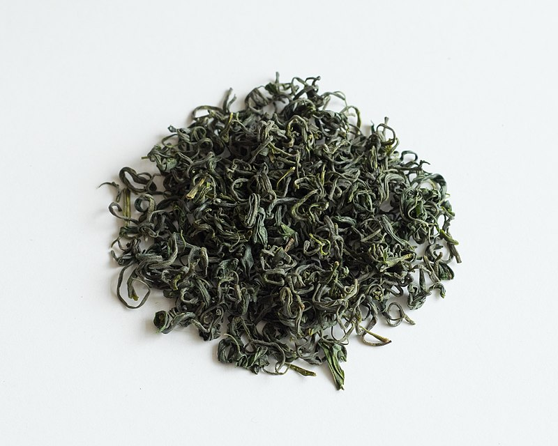 中国の釜炒り製緑茶